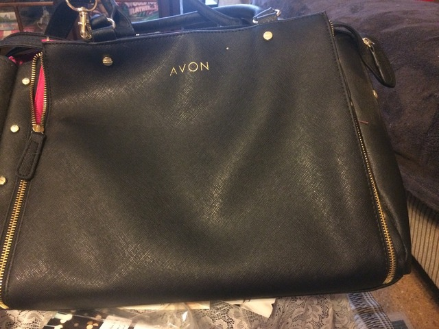f10a32c0085 Like NEW Avon Rep Tote Bag filled with demos and sale supplies in Seneca,  Oconee County, South Carolina - Bell County Buy, Sell, Trade